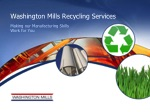 Washington Mills Recycling Services