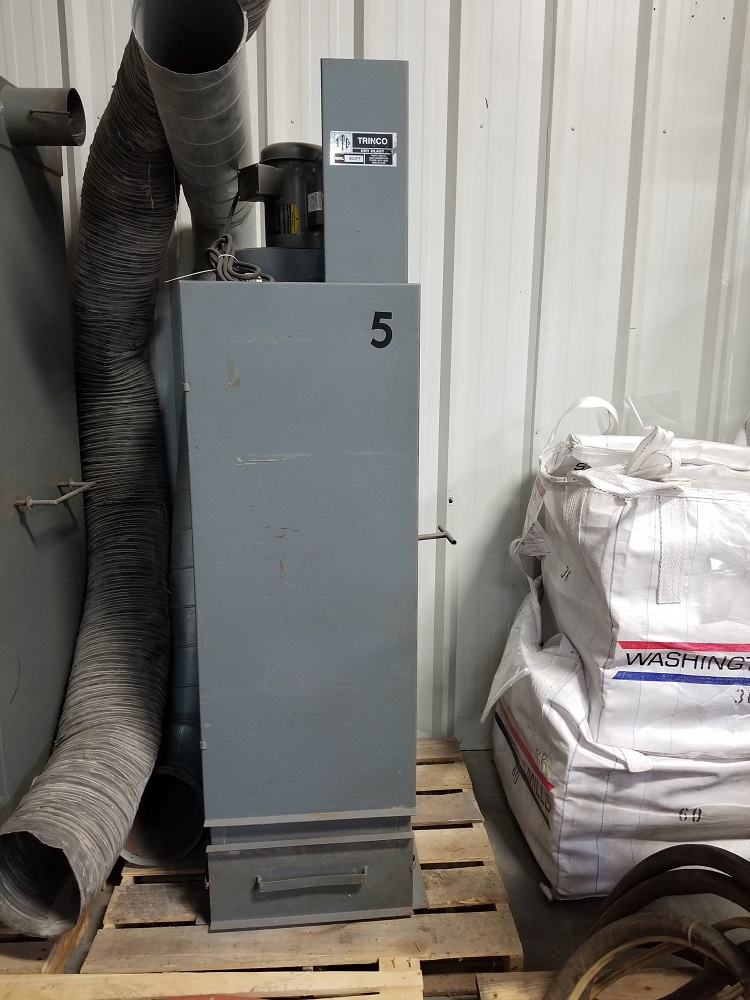 Used Trinco 800 cfm. dust collector